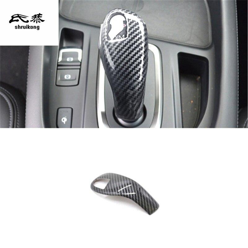Car Gear Lever Leather Cover Haval F7 F7x 2019 2020 Interior Accessories Decor