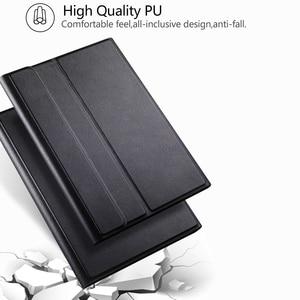 Image 3 - החייבת מקלדת Case עבור Samsung Galaxy Tab 8.0 2019 מקרה כיסוי עבור SM T290/T295 אלחוטי נשלף Bluetooth Tablet funda
