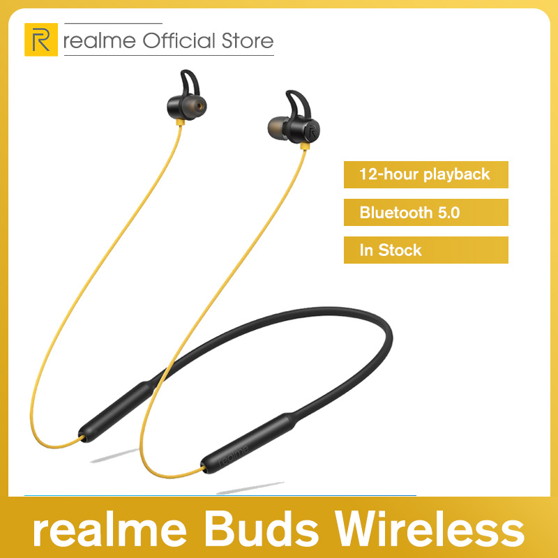 Realme Buds Wireless Bluetooth 5 0 Magnetic Connection Bass Boost Driver 12 Hours Battery Life For Realme X2 X2 Pro Bluetooth Earphones Headphones Aliexpress