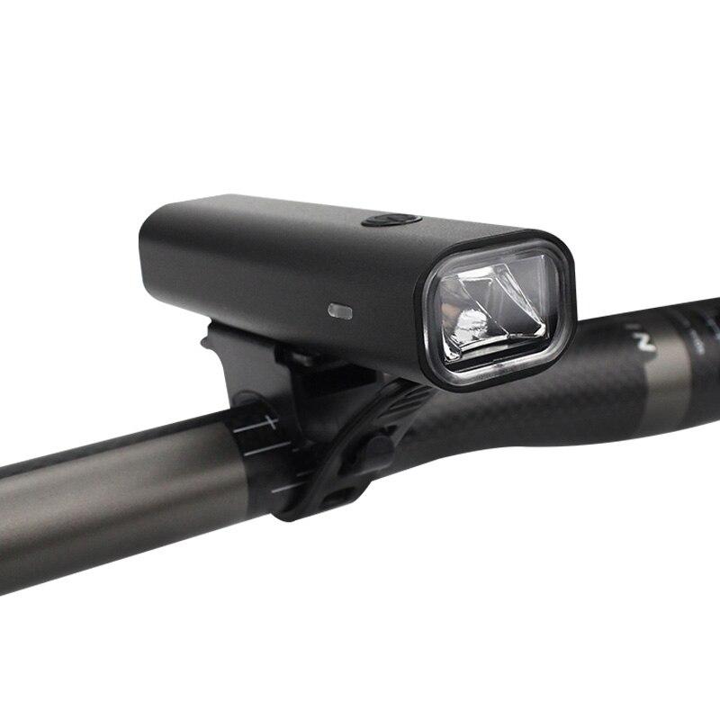 Bicycle Light USB Rechargable Aluminum Alloy Waterproof LED Cycling Front Light 400 Lumen 3 Modes Bike Flashlight