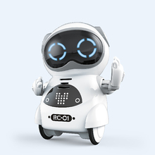 Intelligent voice controlled robot Mini pocket robot singing and dancing