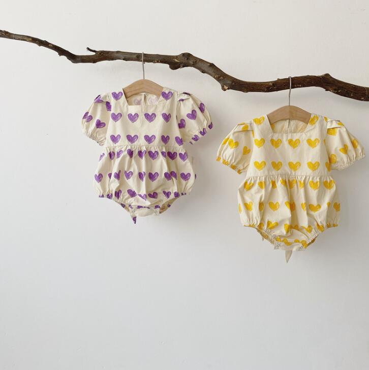 2020-New-Babys-Girls-Boys-Printed-Romper-Summer-Cotton-Baby-Jumpsuit-6-24-month-QA812