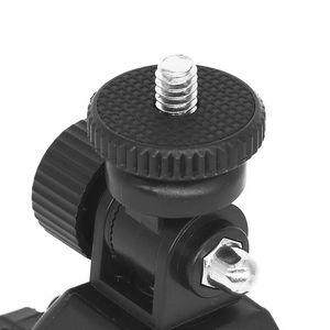 Image 5 - Quick Release Screw Clamp Bracket Bike Handlebar Mount 1/4 Tripod Bicycle phone holder Stick Phone Stand