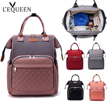 Get more info on the Lequeen Diaper Bags Multi-function Baby Care Backpack Large Capacity Travel Mommy Bag Dry/wet Infant Nappy Backpacks