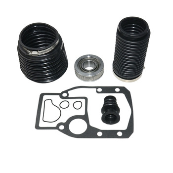 Black Transom Durable With Gasket Tools Bellows Repair Kit Practical Accessories Clamp U-Joint For OMC 1986-1993 911826