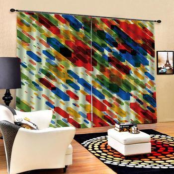 color curtains 3D Window Curtain Dinosaur print Luxury Blackout For Living Room Decoration curtains