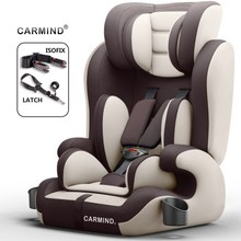 цена на Carmind Child Car Safety Seat For 9 Months-12 Years Old With Soft Connector ISOFIX and LATCH Forward-facing Universal  Car Seats