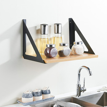 2PCS 8-10 Inch Triangle Angle Table Book Shelve Bracket Heavy Support  Wall Mounted Bench Table Shelf Bracket Furniture Hardware