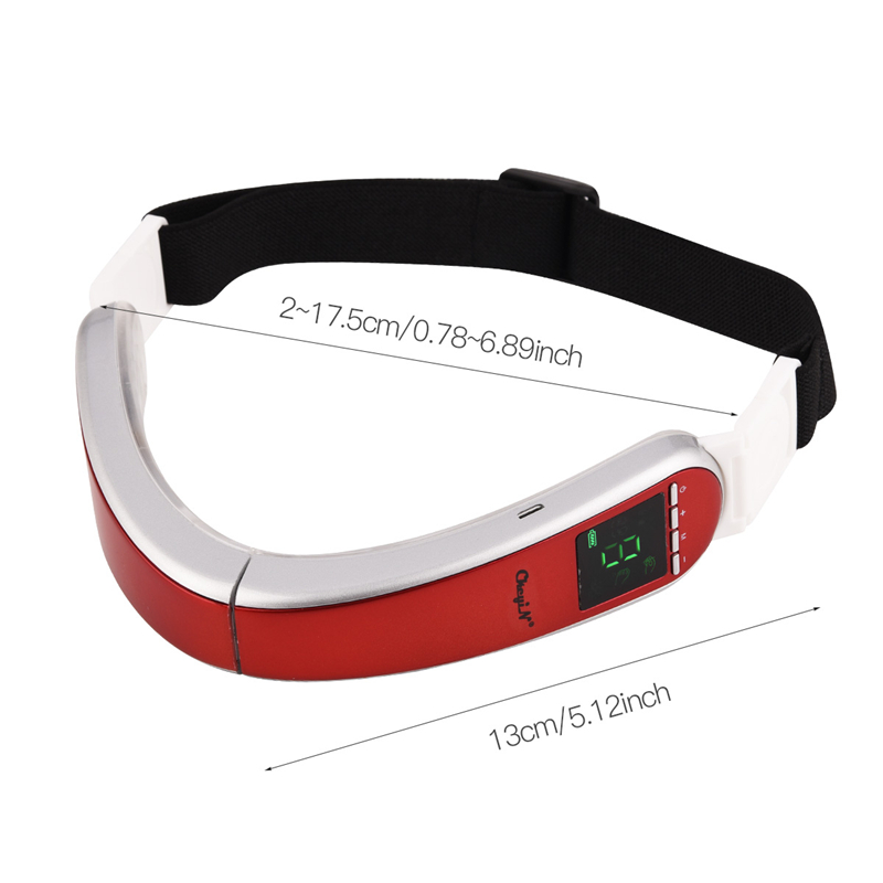 Top SaleInfrared Hot Compress V-Shape Slimming Facial Massager Electric Vibration LED Photon