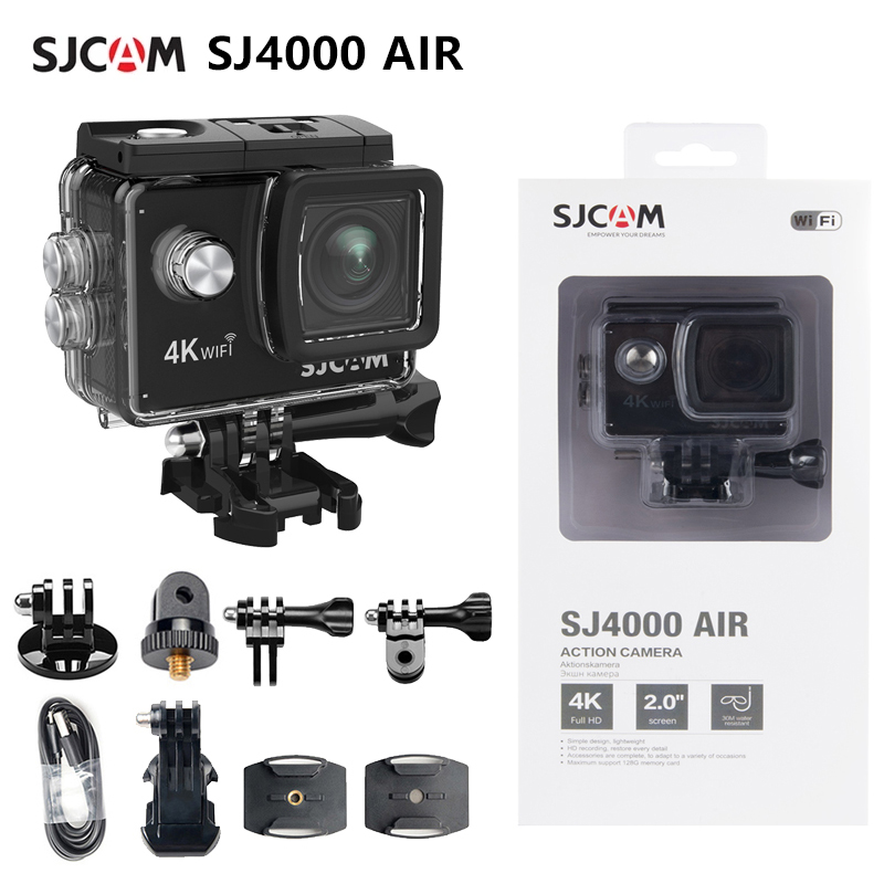 SJCAM SJ4000 AIR экшн-камера Full HD Allwinner 4K 30fps WIFI 2,0