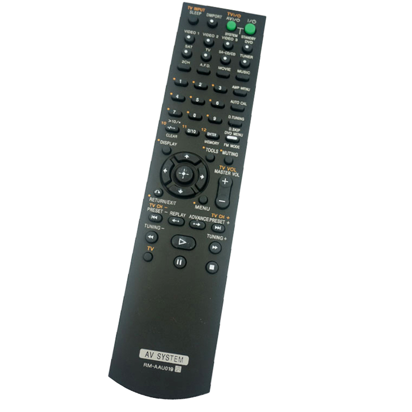 New RM-AAU019 For Sony Audio/Video Receiver Remote Control RM-AAU017 RM-AAU006 FOR HT-DDW670 HT-DDW670T STR-K670P