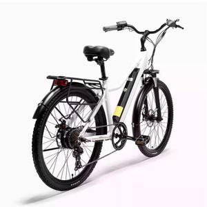 Lithium-Battery Electric-Bike36v Mountain-E-Bike LANKELEISI Adult 400W with 18AH L'G