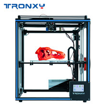 2019 newest design Tronxy X5SA touch screen Auto level DIY 3d Printer Kit full metal Large printing size tronxy 3d printer kit printing plus size 330 330 400mm metal frame structure high precision 3d printer diy kit dual z lead screw