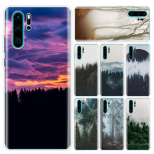 Forest Cloud Pattern Phone Case For Huawei P10 P20 P30 P40 Lite