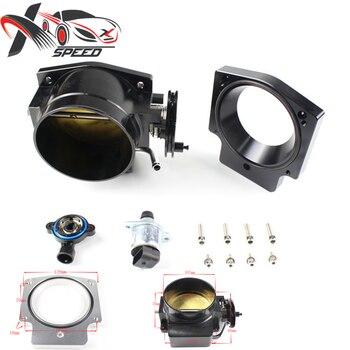 For LS 92mm throttle body V8 Aluminum + throttle body spacer+Position Sensing TPS IAC