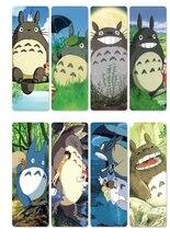 8 pçs/set Anime Meu Vizinho Totoro PVC Cartões para Trajes de Marcadores de Tonari no Totoro DIY Acessórios