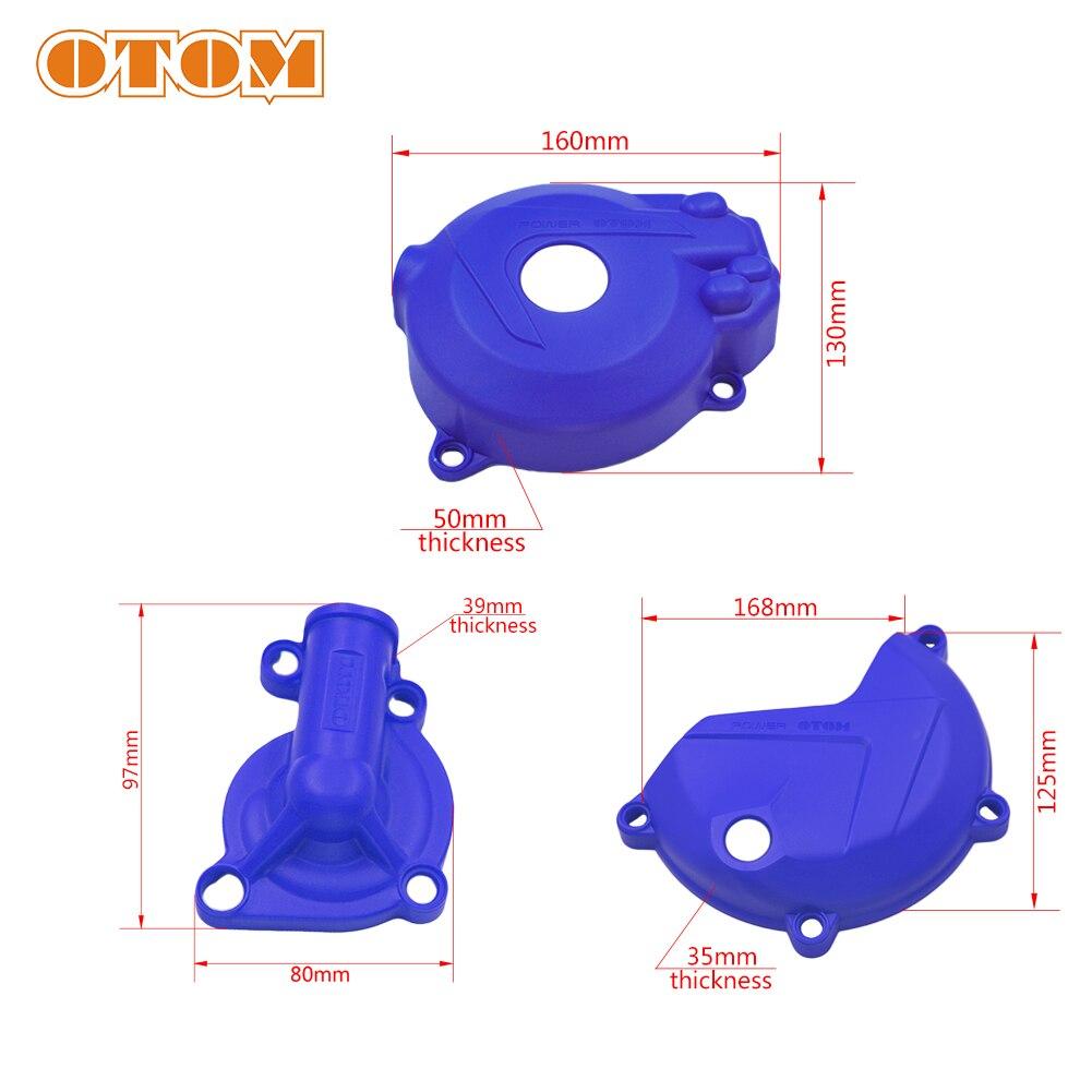 Защитный чехол OTOM Magneto для водяного насоса сцепления двигателя для ZONGSHEN NC250 NC 250CC KAYO T6 K6 ESB J5 RX3 ZS250GY-3 4 клапана