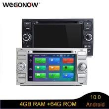 Android 10 Octa Core 4GB + 64GB GPS Radio RDS BT WIFI reproductor de dvd del coche para Ford Galaxy fusión C MAX S MAX Focus Mondeo C S MAX Kuga