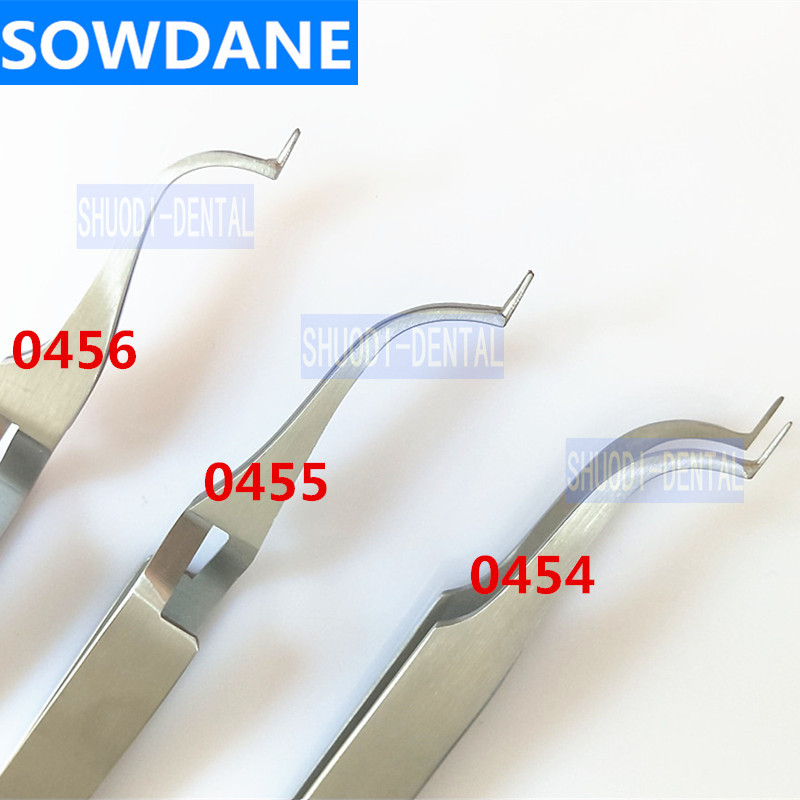 Dental Orthodontic Posterior Buccal Tube Bonding Tweezer Holder Placer Stainless Steel Dnetal Surgical Tool