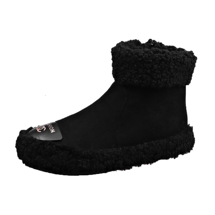 Women Boots 2019 New Plush Snow Boots For Winter Shoes Women Casual Lightweight Ankle Botas Mujer Warm Winter Boots Female 68