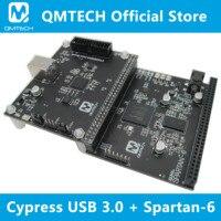 USB 3 0 CYUSB3014 Placa de desarrollo  FPGA Spartan6 Placa de núcleo XC6SLX16 DDR3