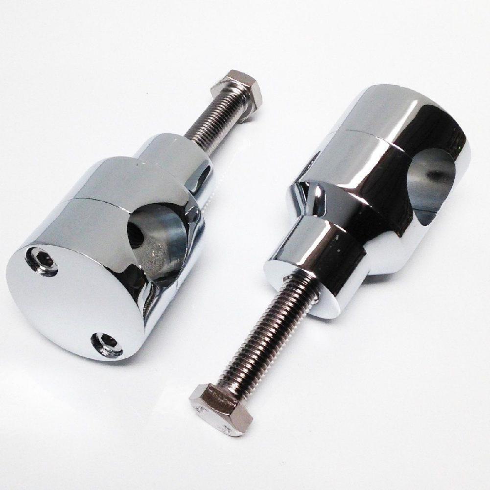 Aluminum 7/8 1 Handlebar Riser For Harley Custom Springer Bobber Chopper 22mm 25mm Handlebars