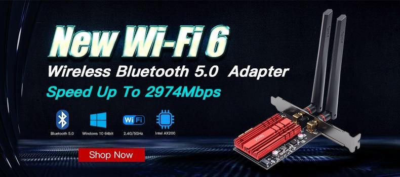 ax200 bluetooth 5.0 802.11ax banda dupla 2.4g