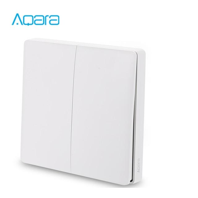 Aqara Smart Switch Light Remote Control ZiGBee wifi Wireless Key Wall Switch work with mijia Mi Home APP homekit