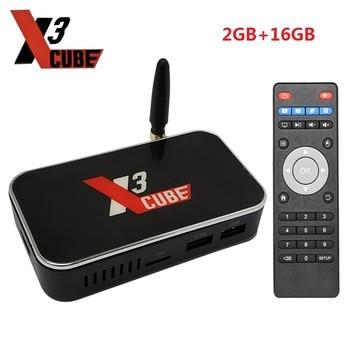 X3 CUBE Amlogic S905X3 TV Box Android 9.0 4GB RAM 32GB ROM 2.4G 5G WiFi 1000M 4K HD 2G 16G X3 Pro Media Player X3 Plus mecool ki pro smart android tv box quad core cortex a53 2g 16g android 7 1 bluetooth 4 1 5g wifi 4k 1000m lan portable tv box