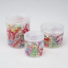 30/50/100 pces grampos de costura de plástico clipes estofando crafting crocheting tricô clipes de segurança sortidas cores ligação clipes de papel