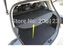 Schwarz Hinten Trunk Cargo Abdeckung Sicherheit Schild Für Mitsubishi ASX 2013 2014 2 modell für wahl! cheap Bay Wan Yi yang 1inch Chrom-Anreden