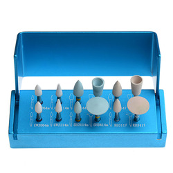 Dental Composite Polishing Kit RA 1112 for Low Speed Contra Angle Handpiece Soft Silicone & Diamond Polishers For Composite