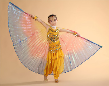 2020 niños Egipto Isis niño danza del vientre alas niños danza ala caliente nueva danza India mujeres bellydance 1 pieza ala antona traversi camillo danza macàbra