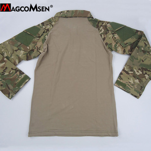 Image 5 - MAGCOMSEN Man Multicam T shirts Army Camouflage Combat Tactical T Shirts Military Long Sleeve Airsoft Paintball Hunting Tshirts