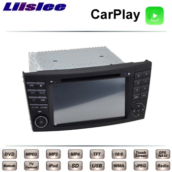 LiisLee For Mercedes Benz E Class MB W211 2002~2009 Car Multimedia TV DVD GPS Radio Carplay Original Style Navigation Navi