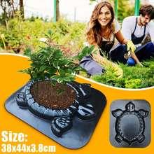 2 in 1 DIY Planting flowers Path Paving Mold Turtle shape Garden Decorative Manu