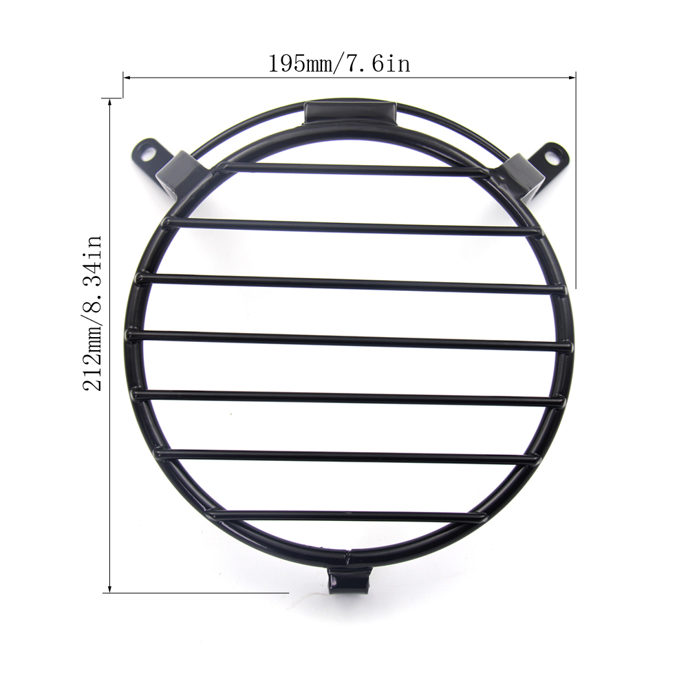 Nrpfell Headlight Cover Grille Mesh Guard for DL250 V-Strom DL 250 Motorcycle Accessories