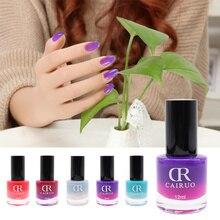 26 цветов 12 мл изменение температуры лак для ногтей контроль температуры цвета градиент изменение цвета лак для ногтей TSLM1