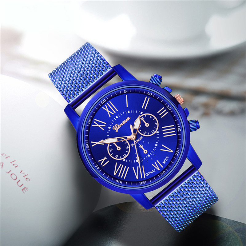 Luxury women Quartz Wrist Watch Temperament lady Watch Stainless Steel Dial Casual Bracele Watches relogio feminino A4