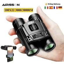 Professional Binoculars Hunting-Optical-Telescope 100X22 30000M Night-Vision Portable