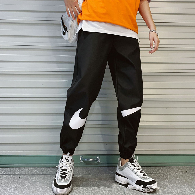 Side Stripe Track Jogger Men Sweatpants Loose Men Joggers Pants Hip Hop Sportswear Track Harem Unisex Streetwear Pant