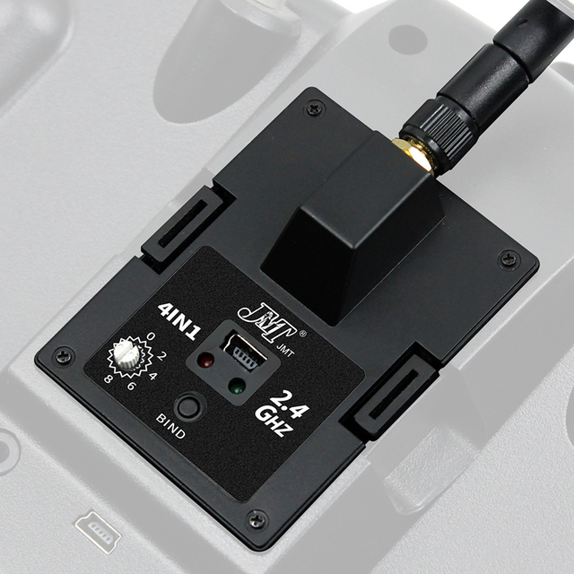 JP4IN1 CC2500 24L01 JP4 in 1 متعدد بروتوكول RF وحدة موالف TM32 نسخة OpenTX ل Frsky/Flysky/Hubsan/والكيرا