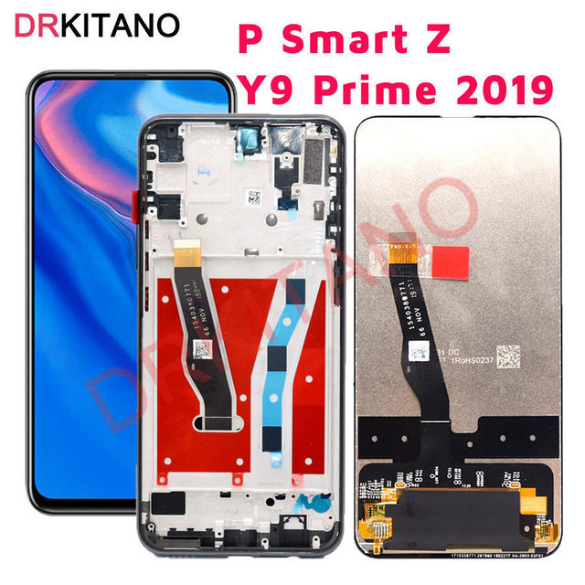 For Huawei P Smart Z LCD Display Touch Screen Y9 Prime 2019 Replacement STK LX1 STK L22 STK LX3 For HUAWEI P Smart Z LCD Screen