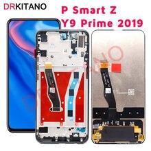 Pスマートz lcdディスプレイタッチスクリーンY9 プライム 2019 交換STK LX1 STK L22 STK LX3 pスマートz液晶画面