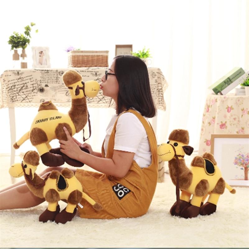 Новая симуляция пустыни, мягкая игрушка верблюд, креативная кукла верблюда, милая тряпичная кукла, подушка, супер милая кукла Альпака для ма...