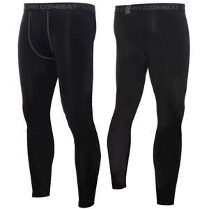 Trousers Compression-Pants Sports-Leggings Yoga-Bottoms Running Tights Fitness Men's