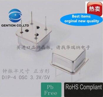 10pcs 100% orginal new Square straight 4-pin DIP-4 OSC 7M 7MHZ 7.000MHZ 3.3V 5V active crystal