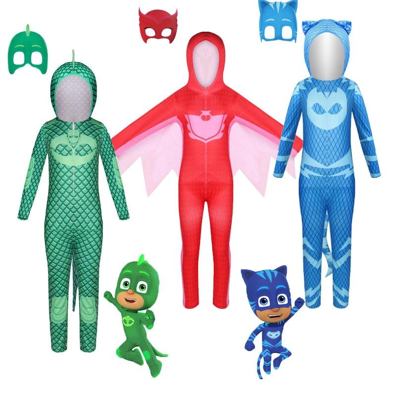2021 New Halloween children cartoon cat boy costume children hero jumpsuit costume Halloween children costume 1