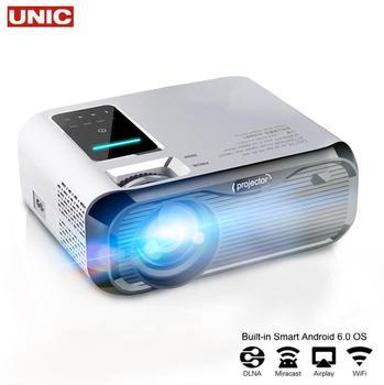 E500H mini projektor full-hd 1080P projektor WIFI podłącz telefon 1280x800P rozdzielczość Beamer 6000 lumenów 4K Proyector kino domowe tanie i dobre opinie Unic Instrukcja Korekta Auto Korekty Projektor cyfrowy Ue wtyczka Us wtyczka Au plug Wtyczka uk 4 3 16 9 Focus Brak E500S E500