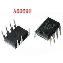 5 шт., чип управления питанием, A6069H, A6069, DIP 7, LCD